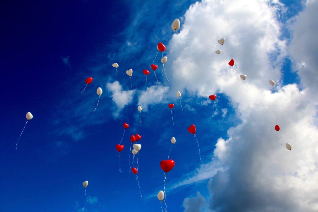 Luftballons Hochzeit Himmel Hochzeitsplaner München