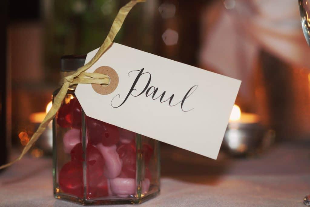 Gastgeschenk Hochzeit Hochzeitsplaner